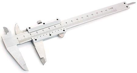 Штангенциркуль для измерения диаметра бусин