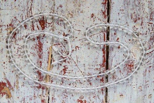 Классические буддийские четки из граненого хрусталя