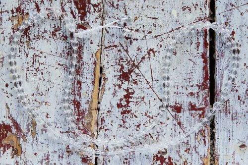 Изящные буддийские четки из граненого хрусталя 108 бусин