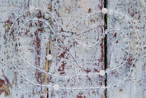 Классические буддийские четки из хрусталя с подвеской «Ом»