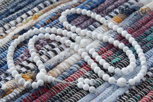 Изящные буддийские четки из кахолонга 108 бусин