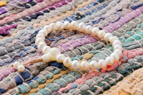 Классические буддийские четки-браслет из жемчуга 27 бусин, они же — четки на руку