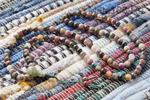 Изящные буддийские четки из турмалина 108 бусин