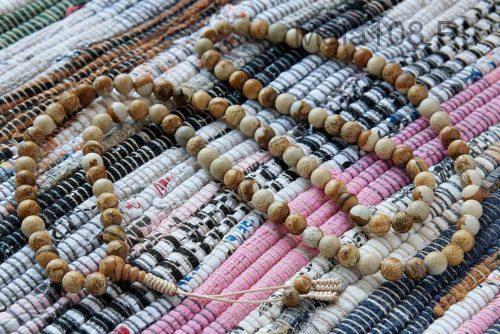 Классические буддийские четки из пейзажной яшмы 108 бусин