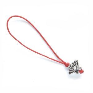 Простой счетчик повторений мантр с серебряным цветком лотоса